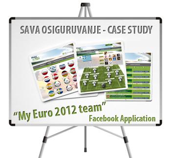 Case study sava1 Facebook application case study   My Euro 2012 team