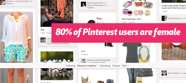pinterest women Pinterest Marketing
