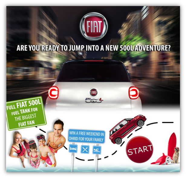fiat quiz cover1 FIAT 500L Facebook Quiz   Increasing awareness and stimulating interest about the new model